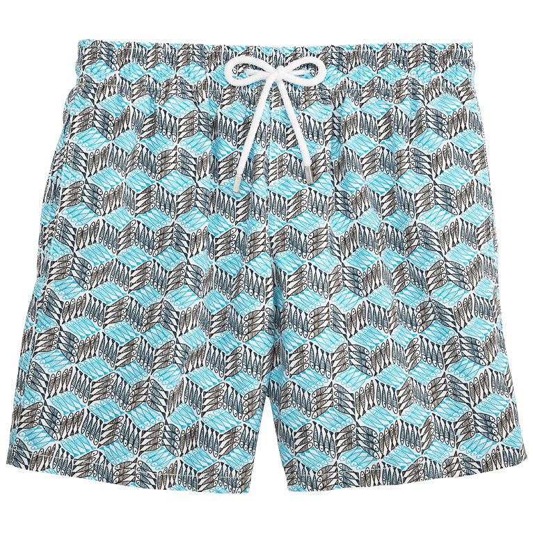 Prints for the family. Swimsuit clipart grey shorts