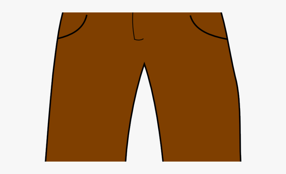 Pant free cliparts on. Short clipart brown shorts