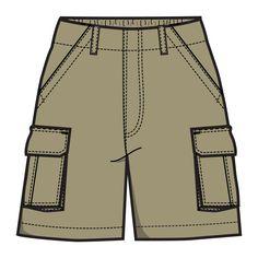 Pants clipart khaki shorts. Short clip art library