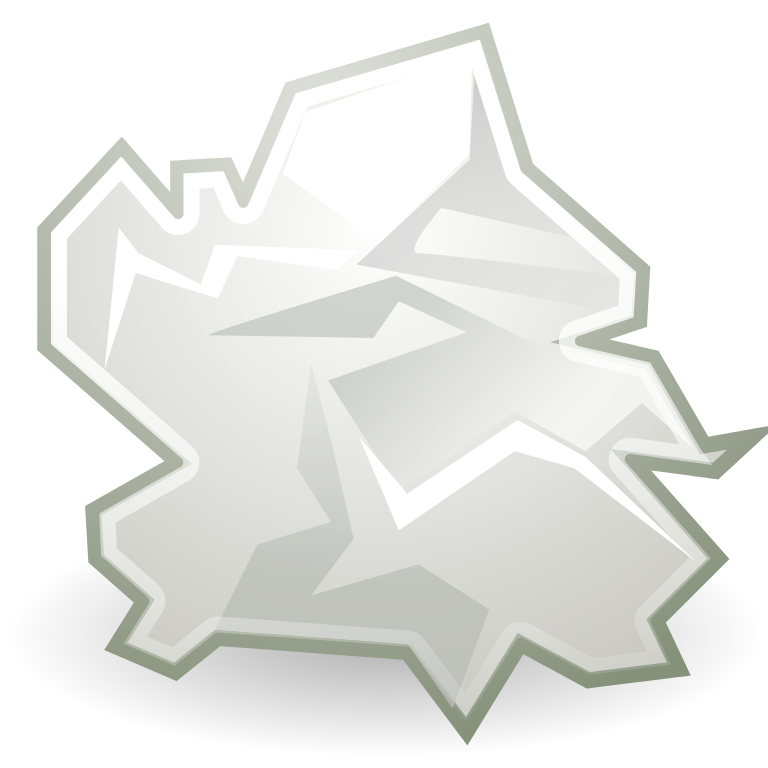 writer clipart crumpled paper
