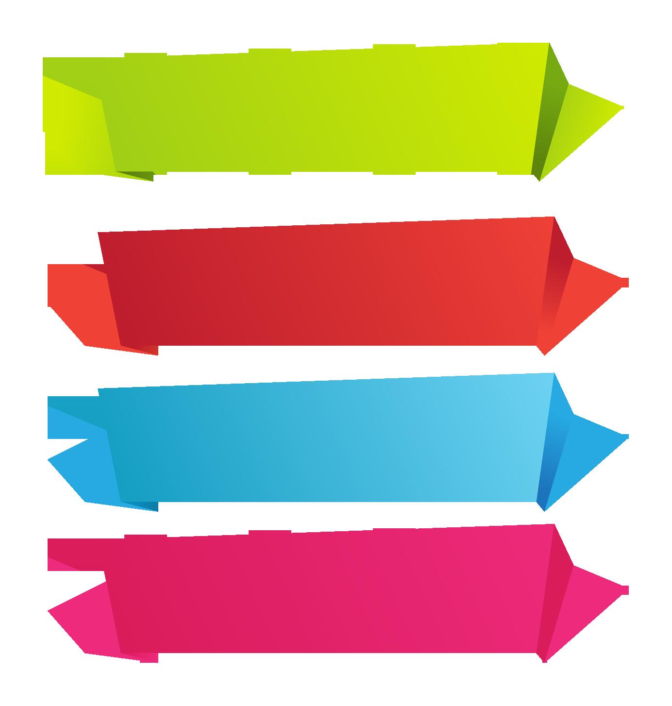 Paper clipart colour paper. Banner clip art ribbon