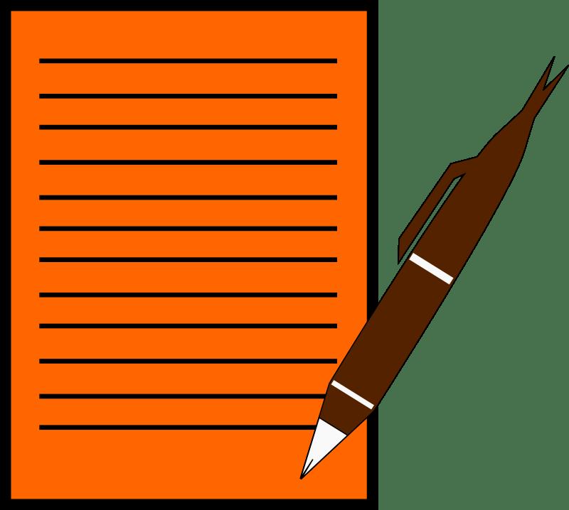 Writing cv resumes maker. Paper clipart handwriting paper