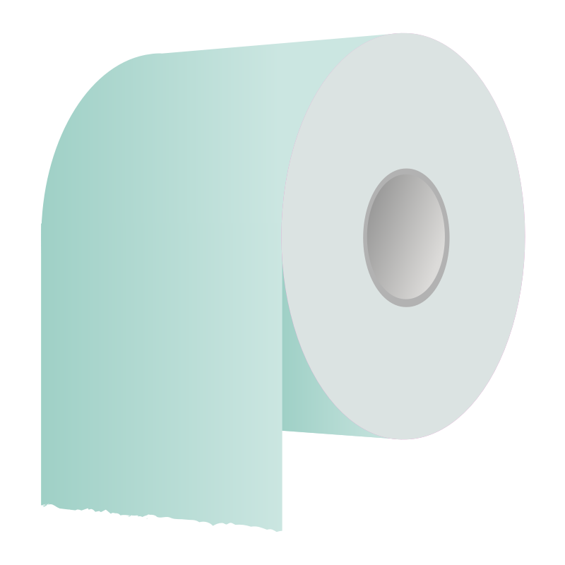 Paper clipart office paper. Free picture of toilet