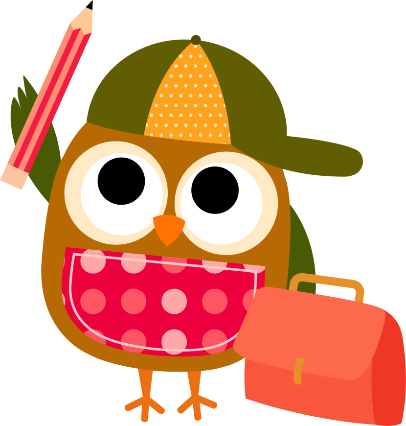 pencil clipart owl