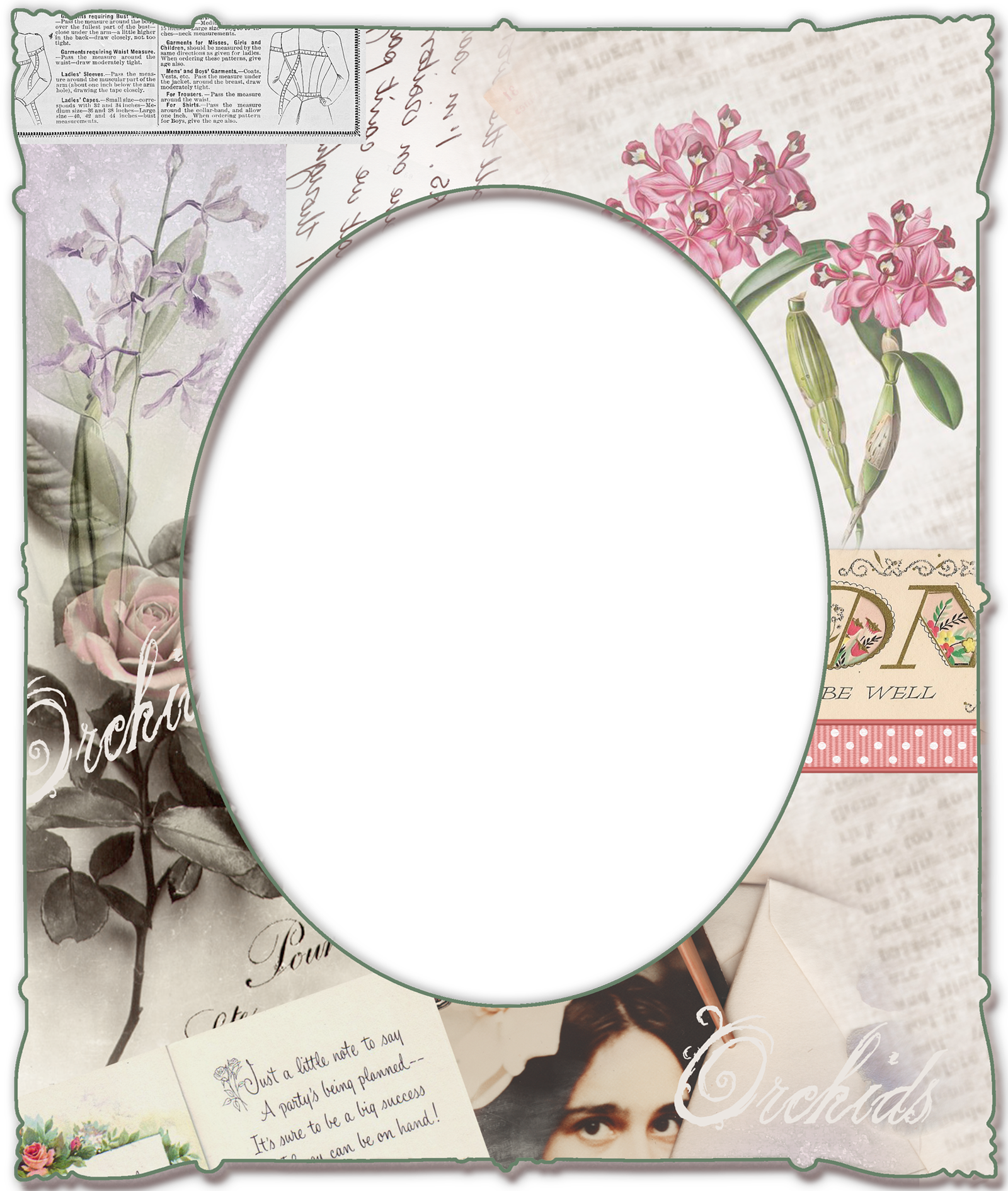 Transparent png frame with. Paper clipart pape