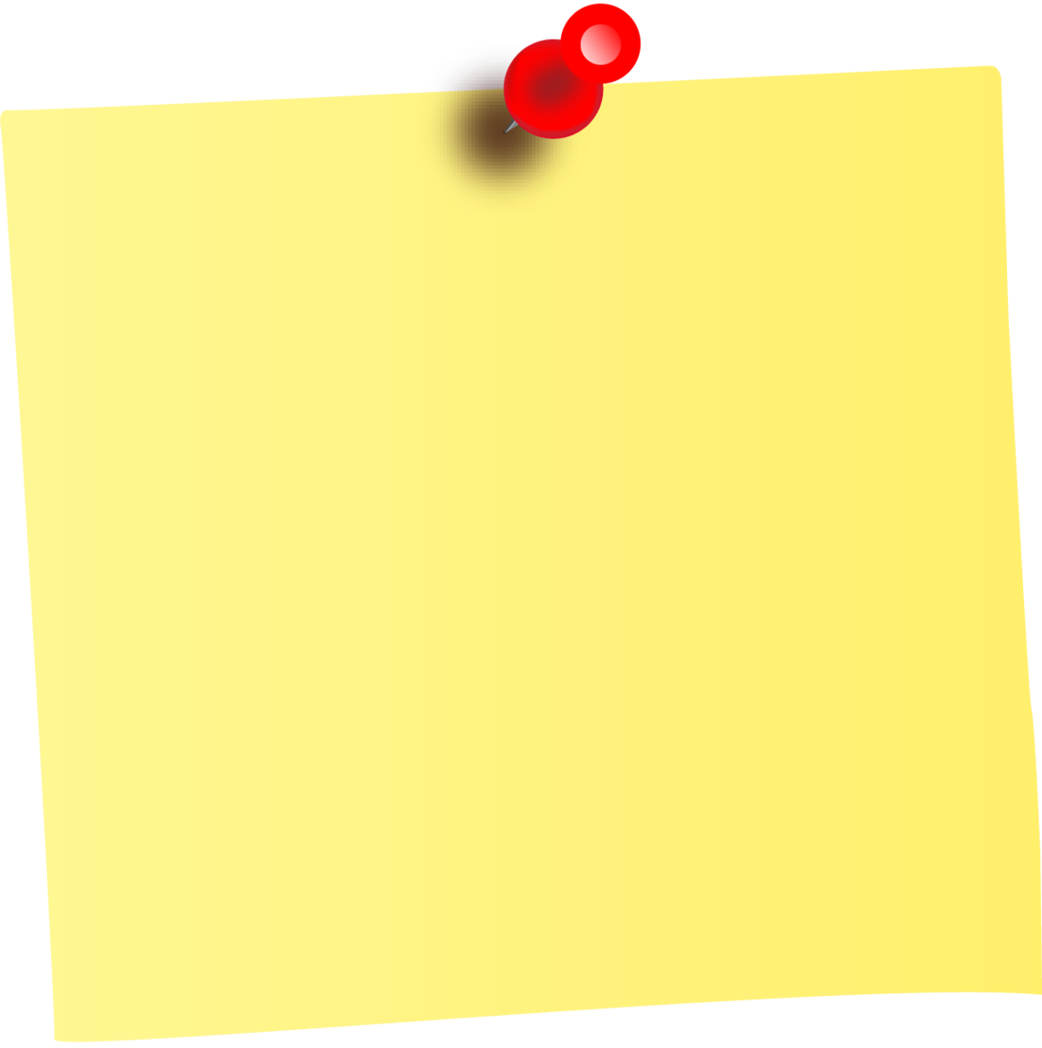 Paper clipart sticky note. Png of a transparent