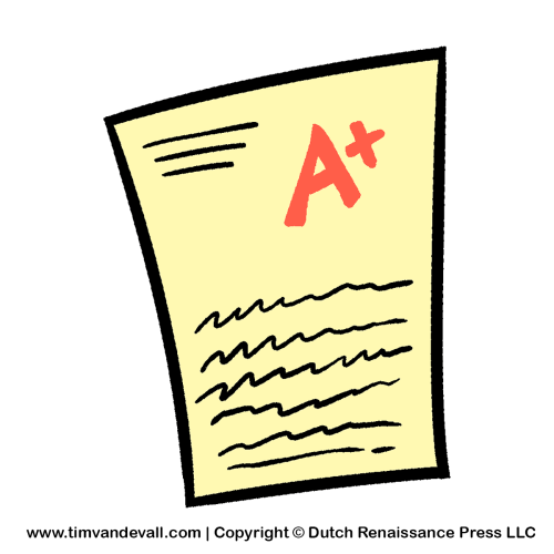 Test clipart test papers. Pin on drawings
