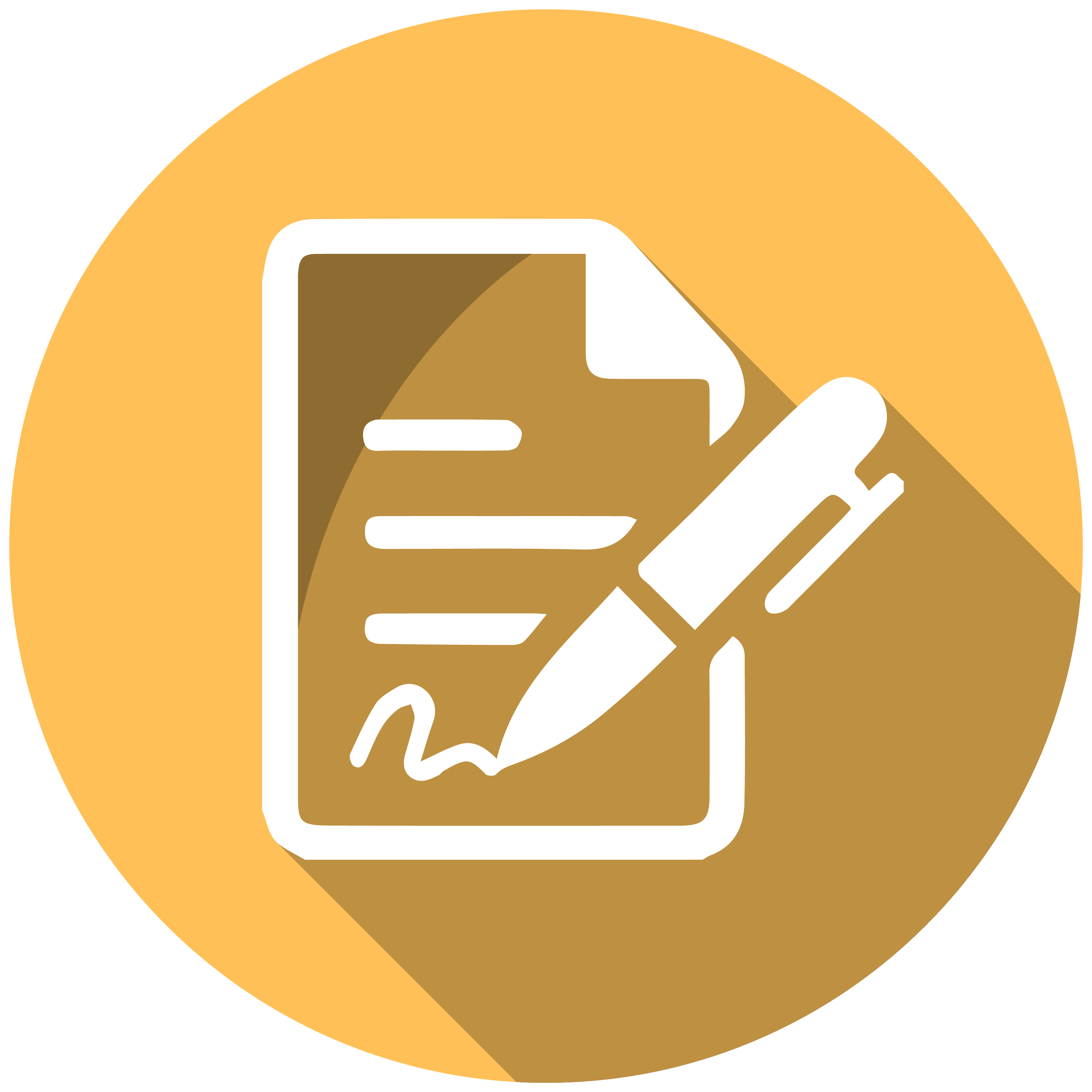Paper icon png. Contract housing and residential