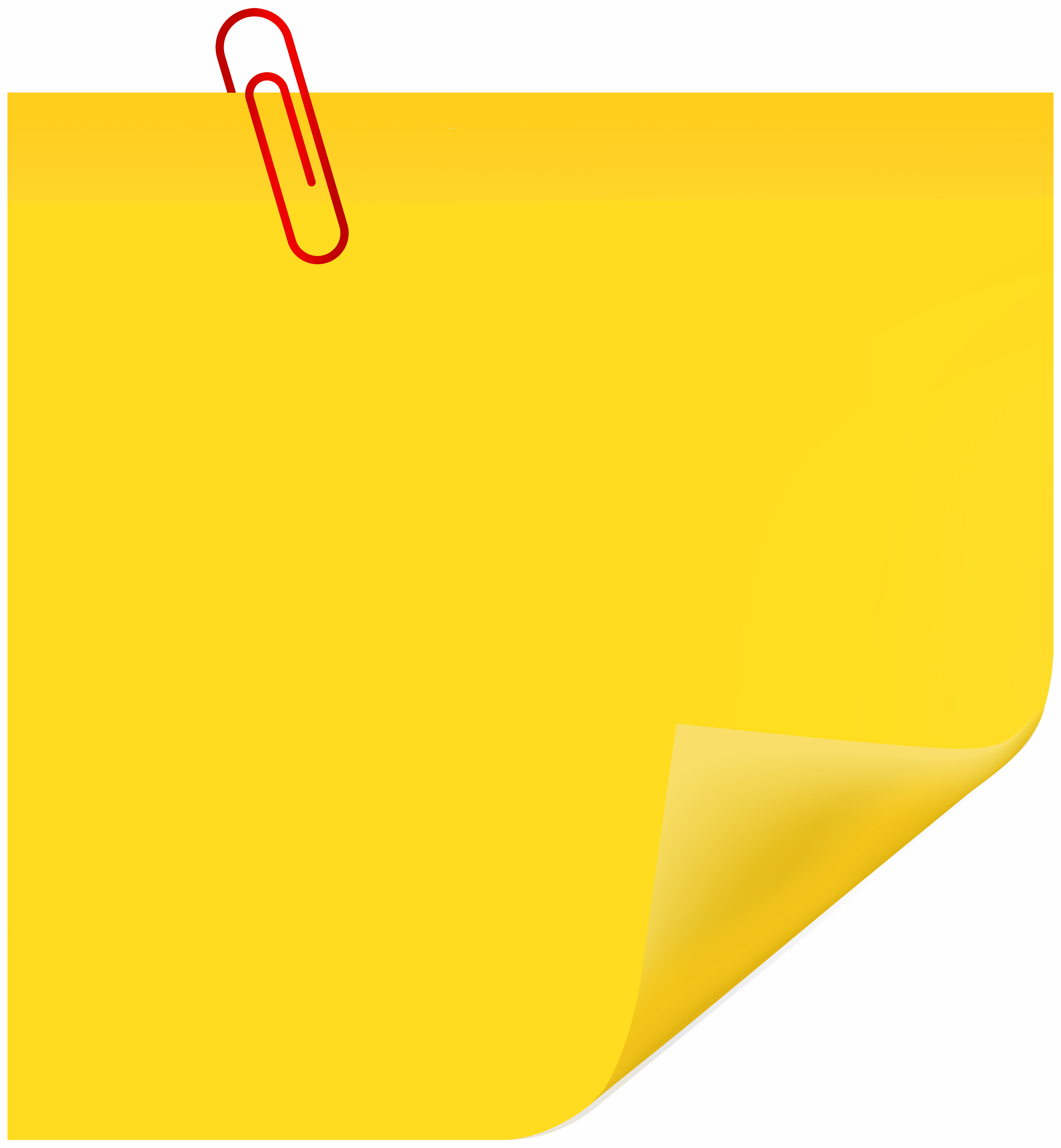 Paperclip colored
