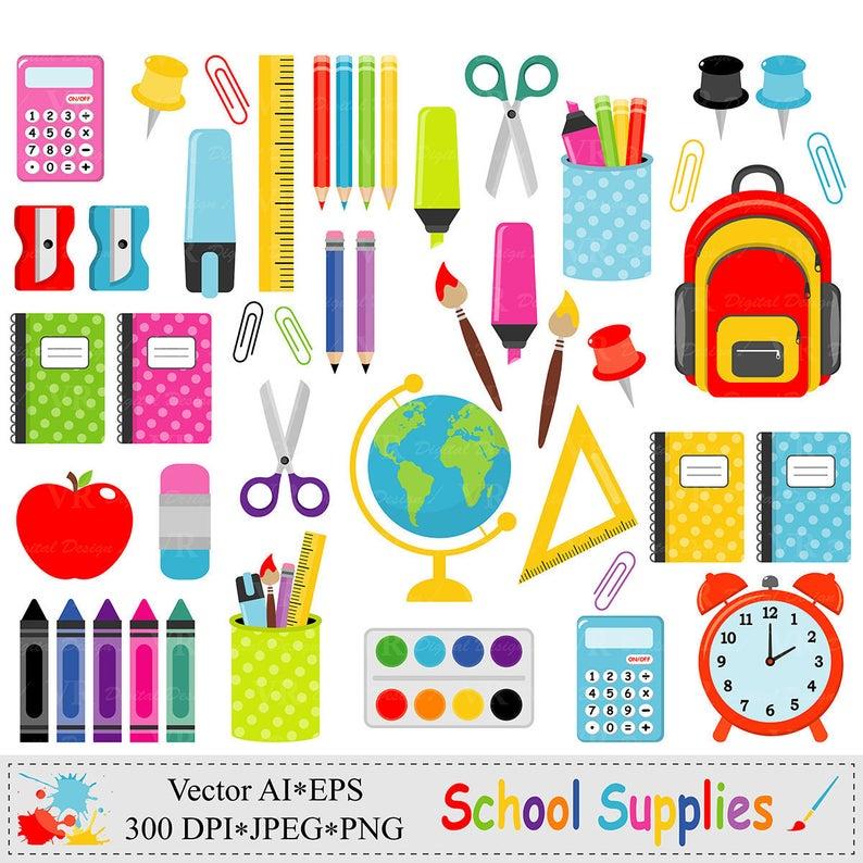 Paperclip clipart school accessory. Supplies clip art back