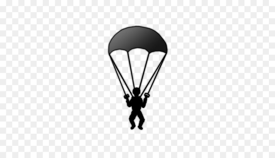 Parachuting computer icons clip. Parachute clipart