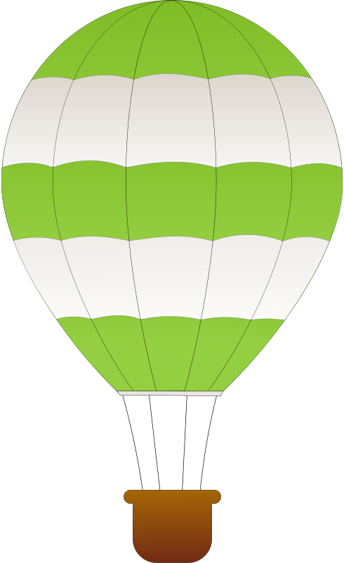 Hot balloon clip art. Parachute clipart air ballon