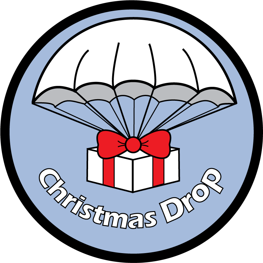 Wing clipart air force. Operation christmas drop where
