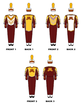 University of minnesota marching. Parade clipart concert band
