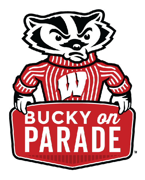 Parade clipart concert band. Masc features bucky on