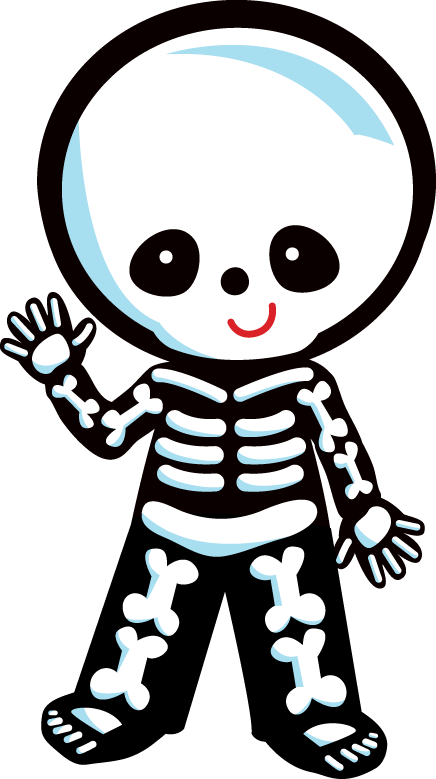 Zwd skeleton png minus. Witch clipart monogram