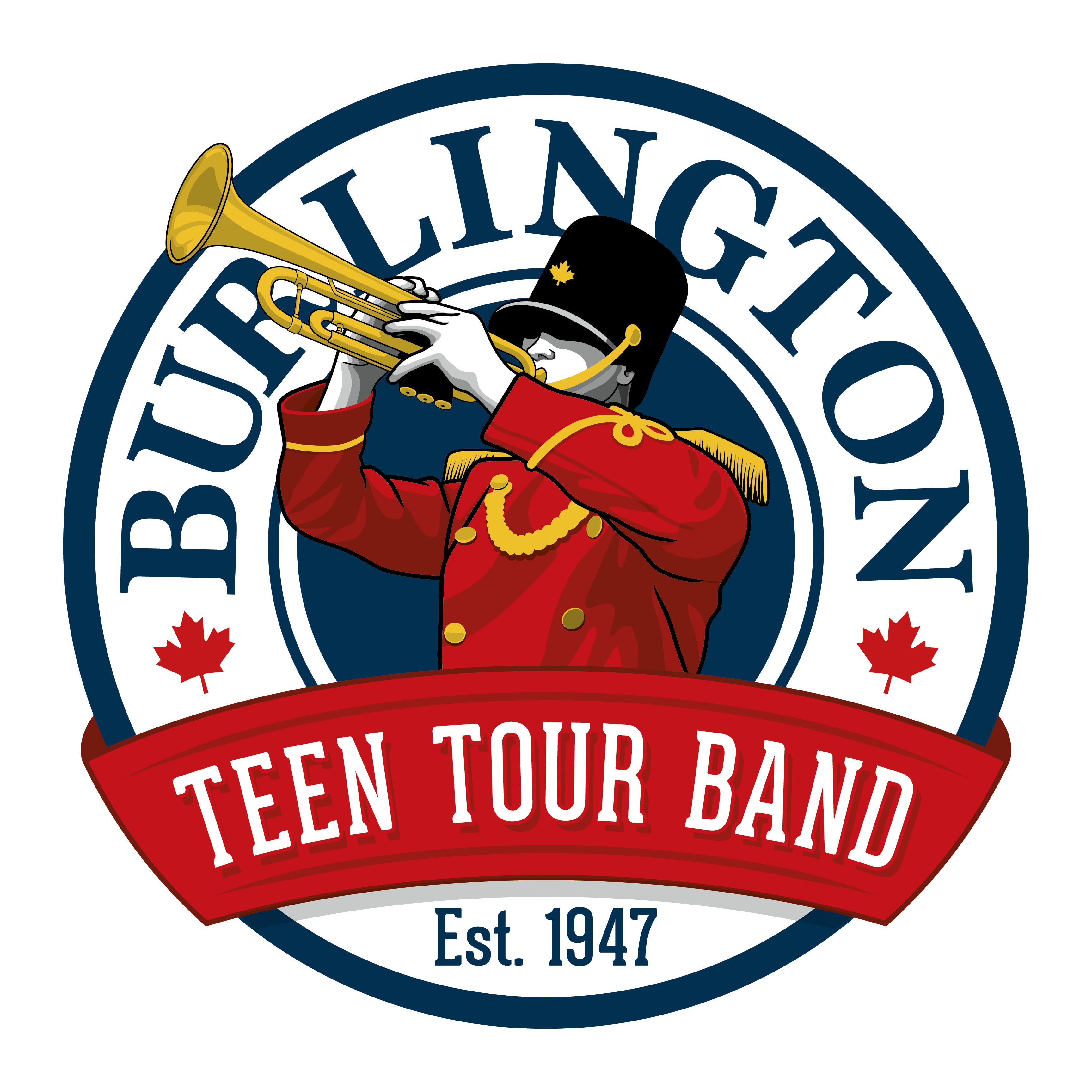Burlington tour band . Teen clipart junior high