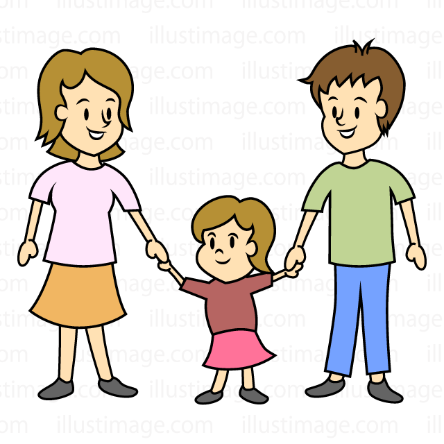 Free small child and. Parent clipart