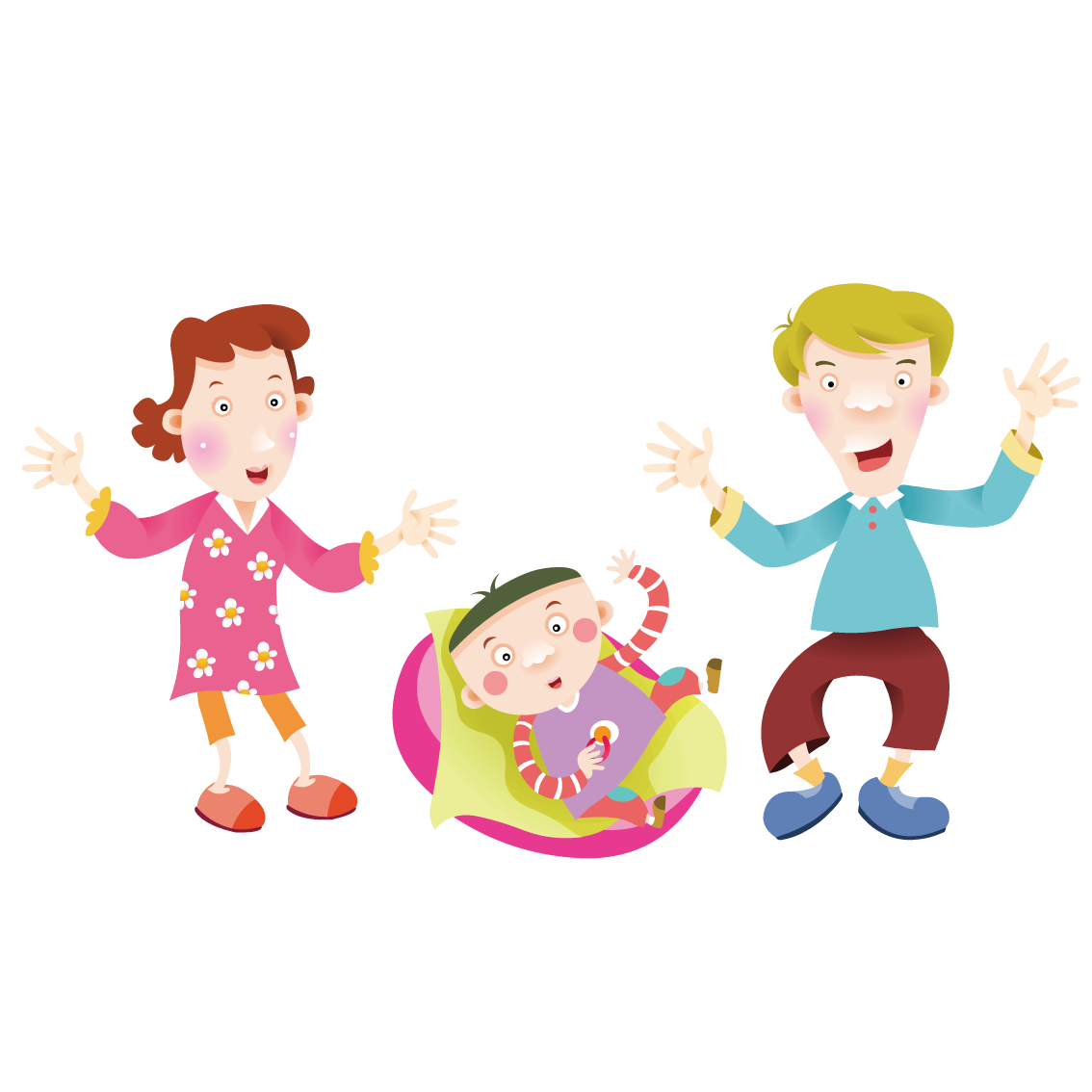 Parent clipart child drawing. Cartoon looking at the