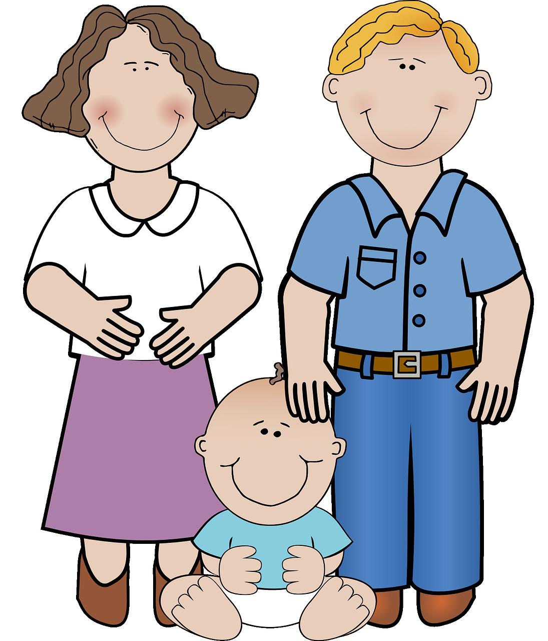 Early childhood center family. Parent clipart parental involvement