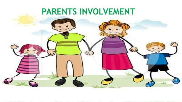 Parents in school . Parent clipart parental involvement
