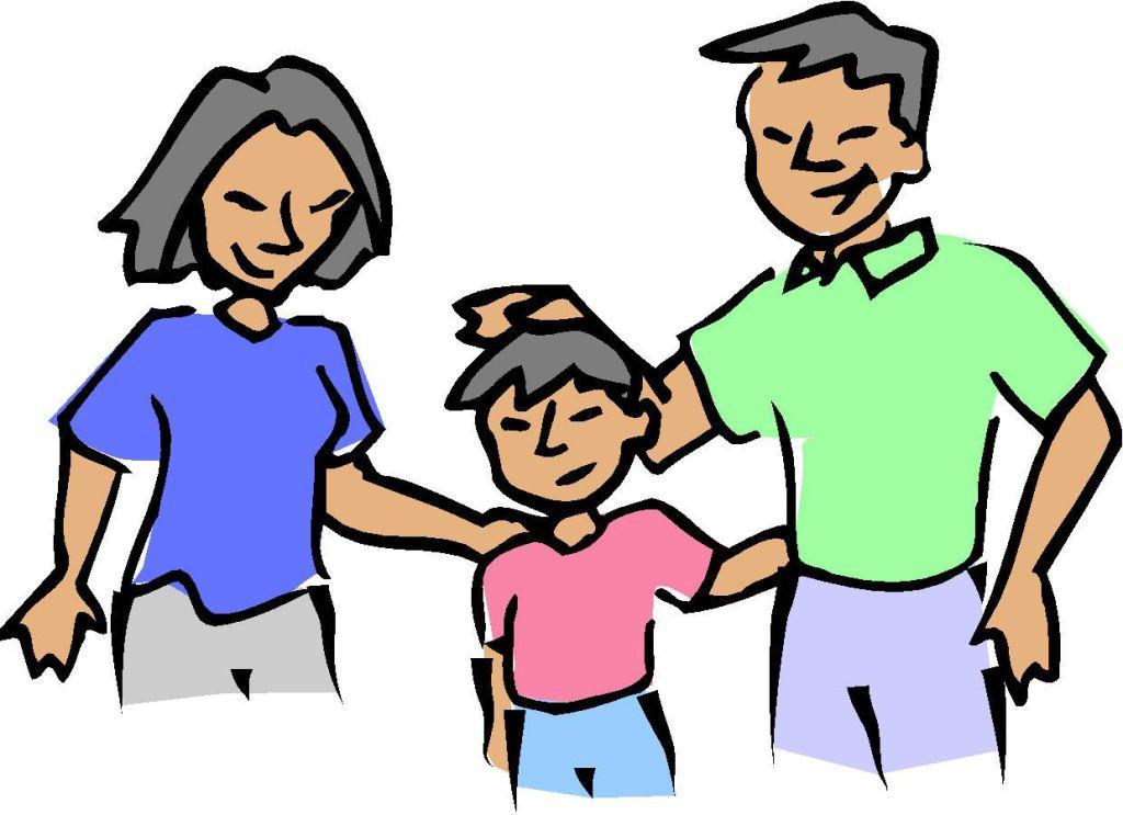 Parent clip art images. Parents clipart