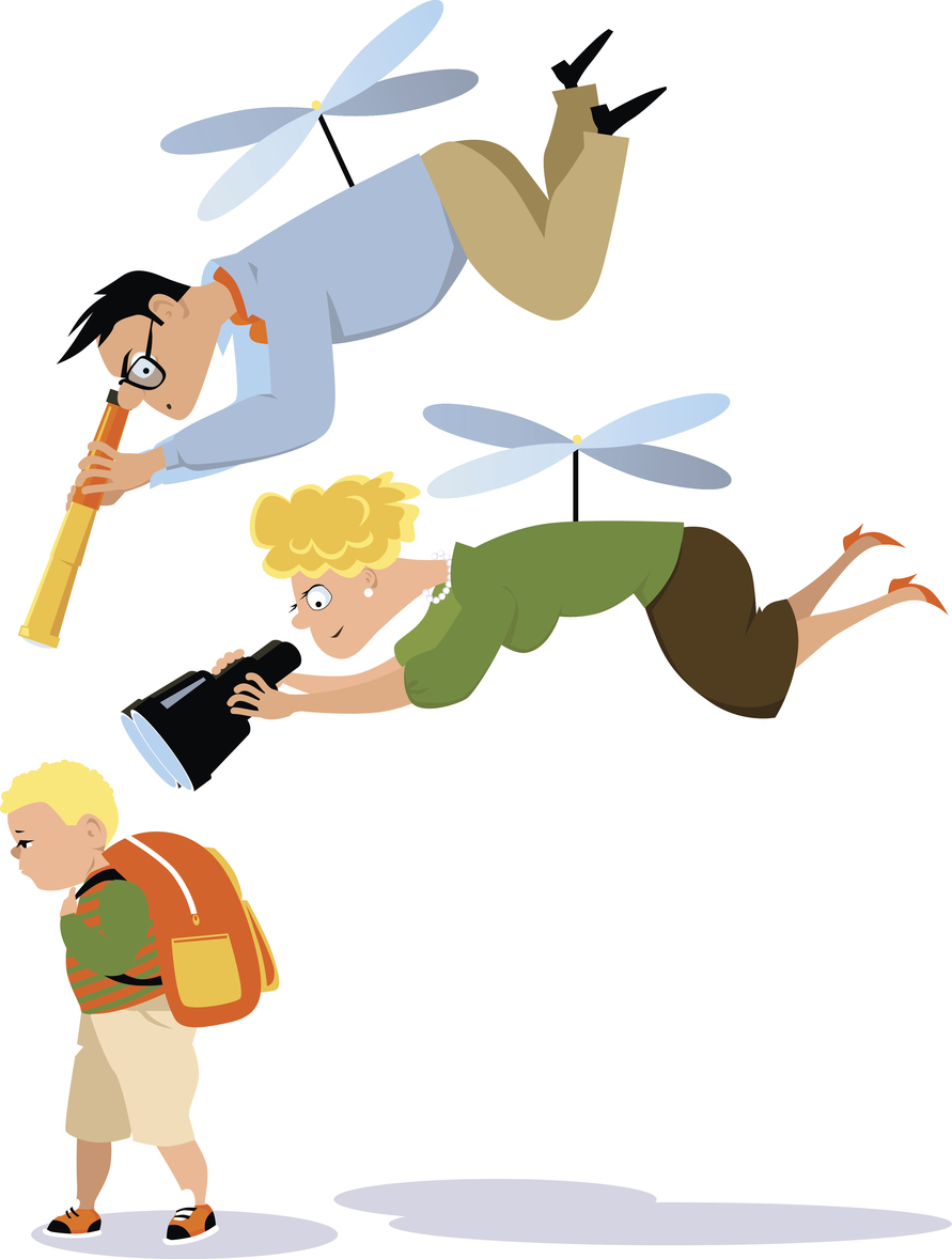Helicopter parents in the. Yelling clipart employment law