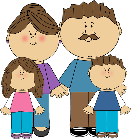 Parent clip art images. Parents clipart