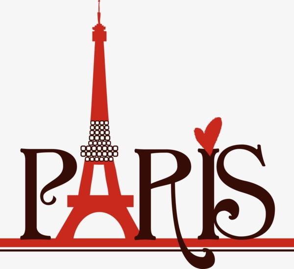 Paris clipart. Letter transmission tower png