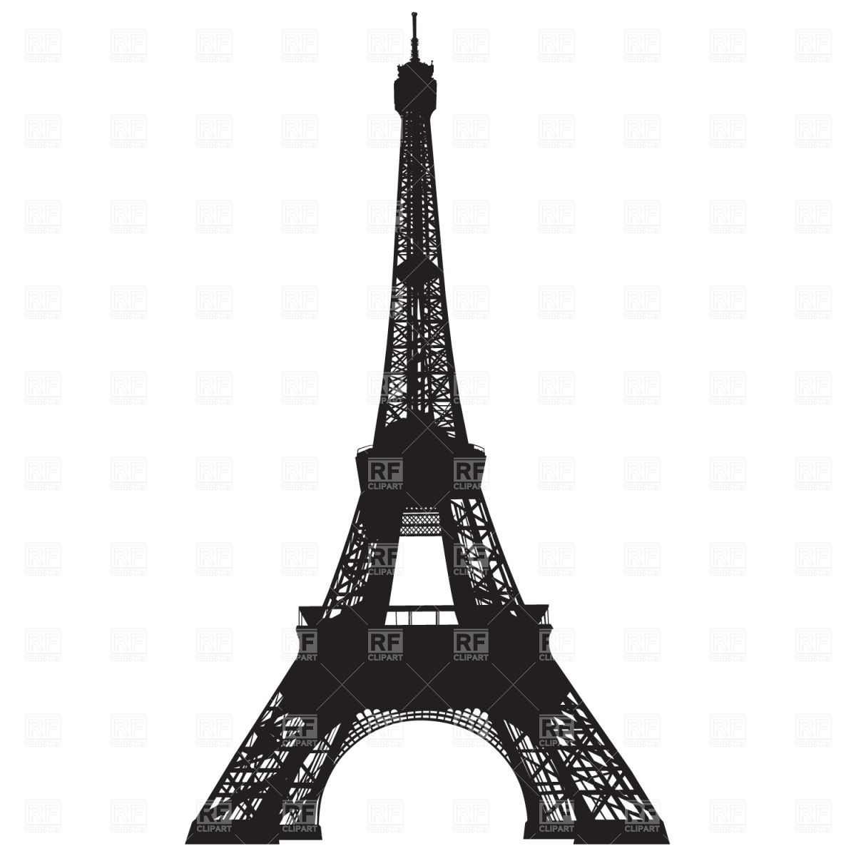 Free clip art eiffel. Tower clipart tower paris