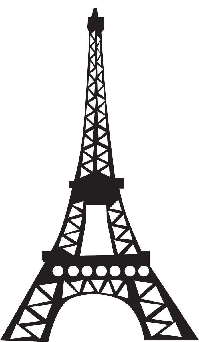 Prayforparis trendwiser news pinterest. Tower clipart silhouette