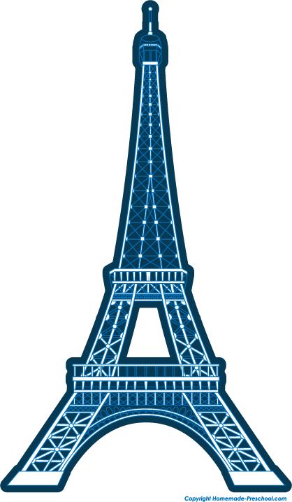 Free cliparts download clip. Paris clipart blue