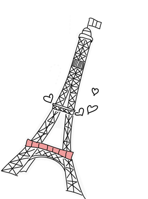 Paris clipart drawing. Cute tumblr pictures drawings