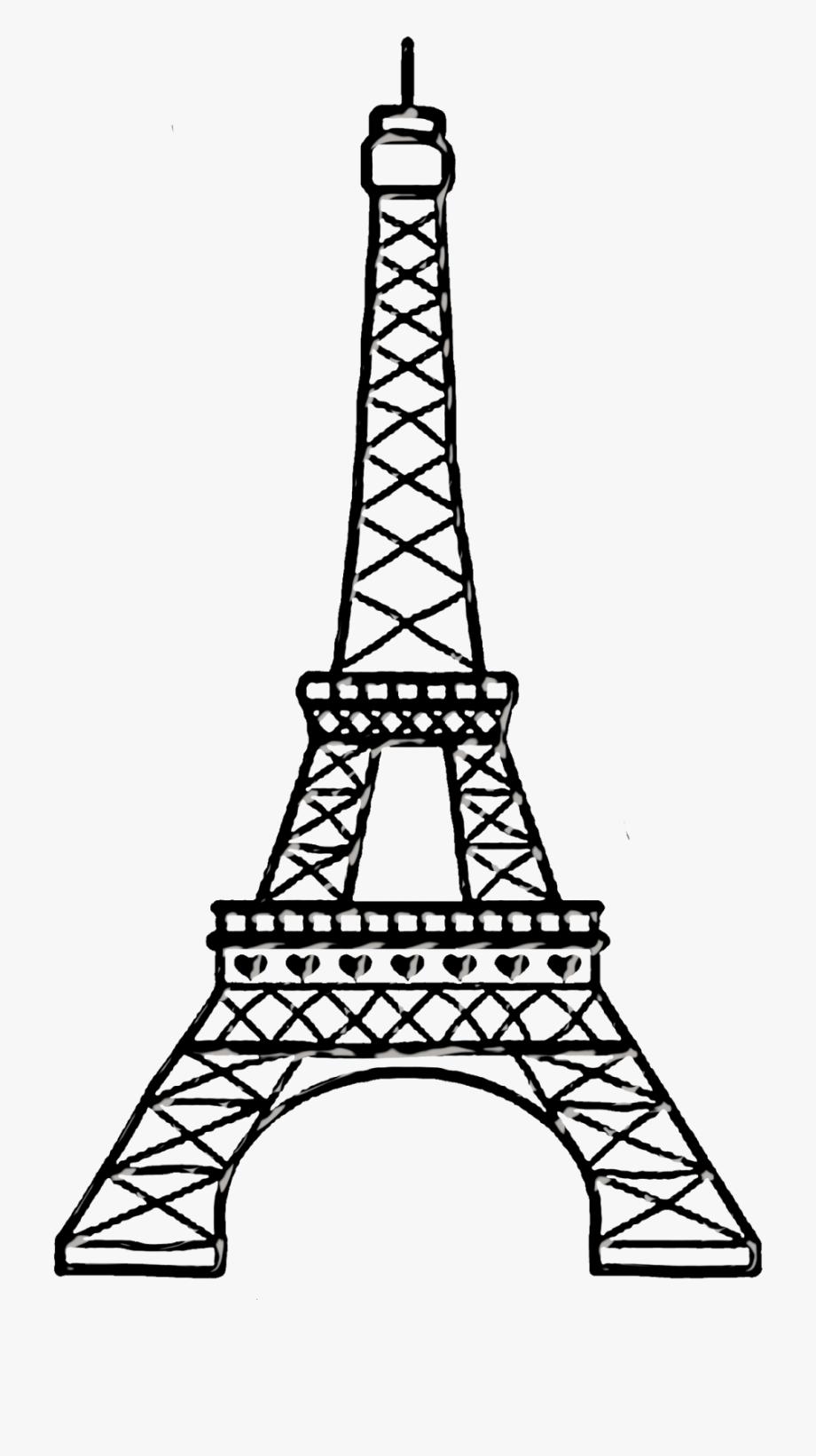 Bello chic eiffel tower. Paris clipart drawing