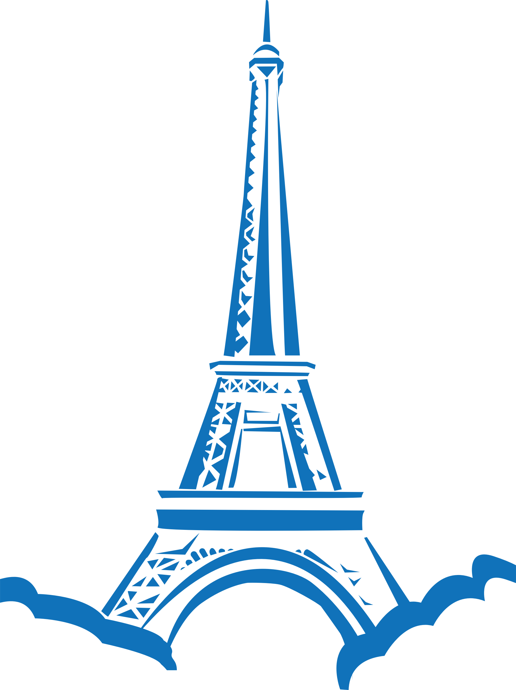 Eiffel paris icons png. Tower clipart svg