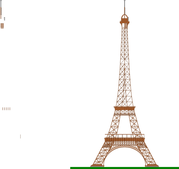 La tour eiffel clip. Tower clipart easy