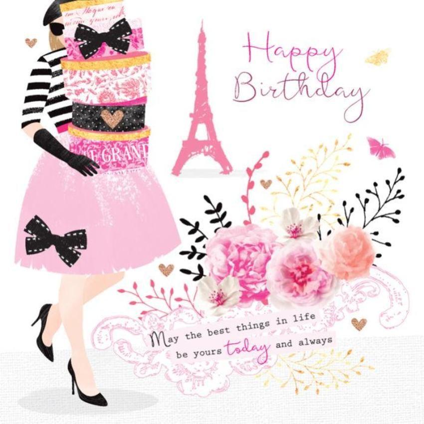 Pin by marth loomans. Paris clipart happy birthday