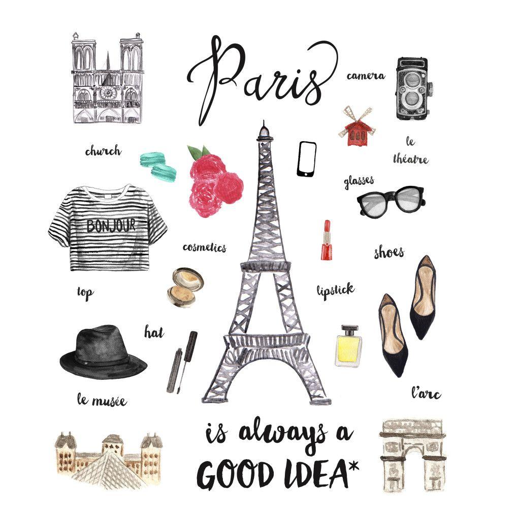 paris clipart idea