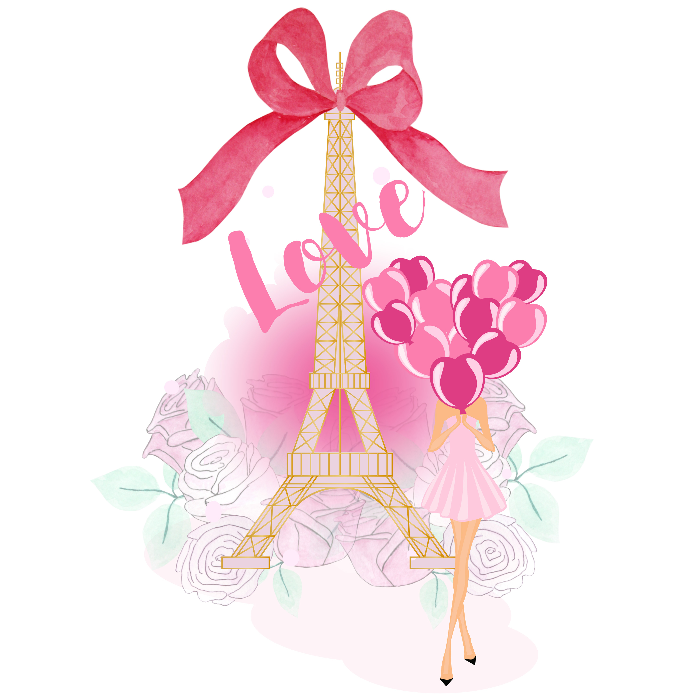 Paris clipart love. In png