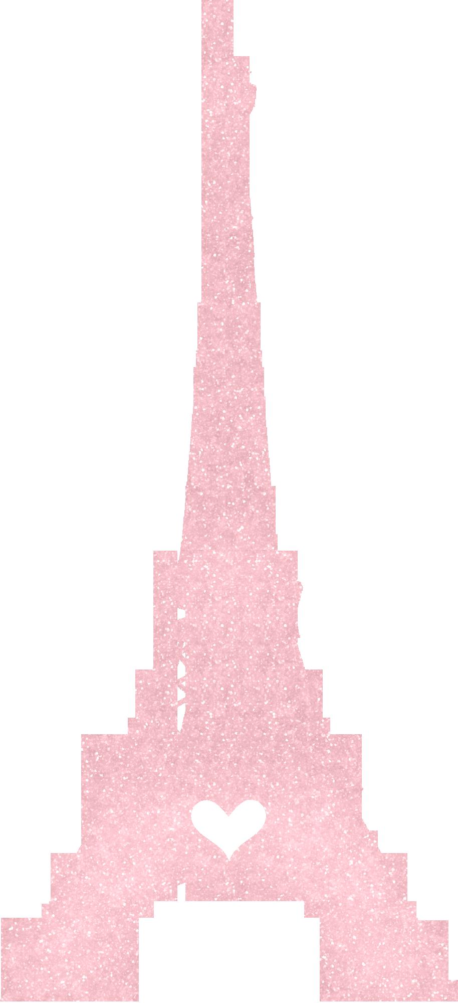Tborges ohsnap tower png. Paris clipart pink