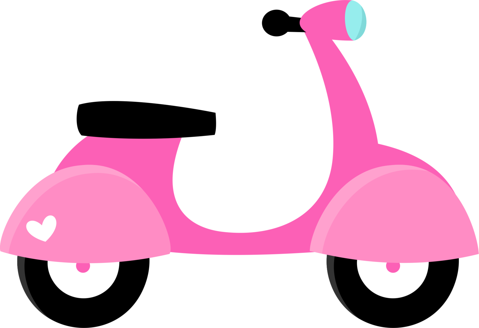 Minus say hello parisianplea. Scooter clipart pink scooter
