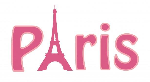 Paris clipart word. Eiffel tower free stock