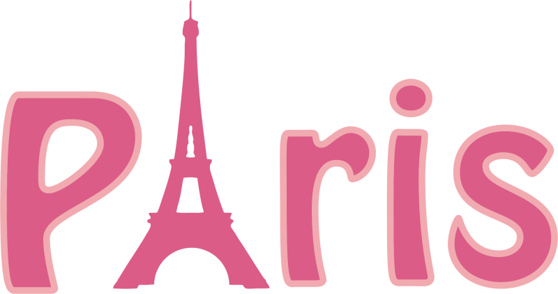 Ourclipart pin . Paris clipart word