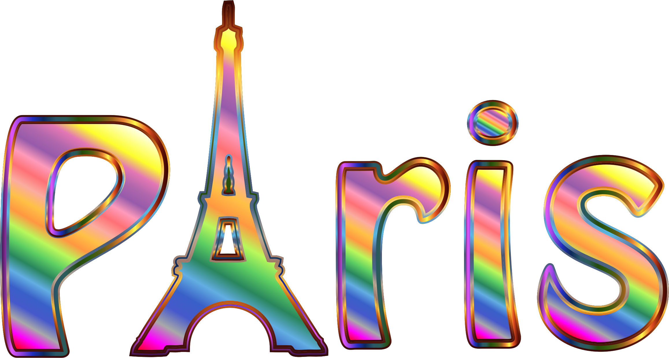 Paris clipart word. Free download best on