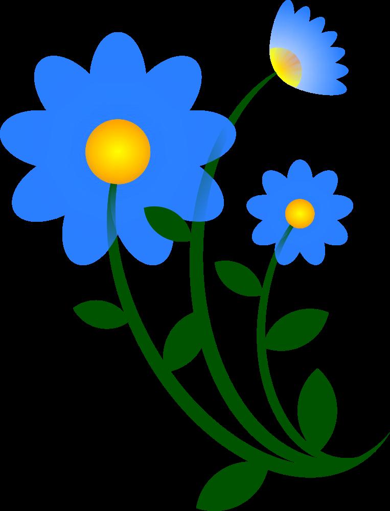 Onlinelabels clip art blue. Thanks clipart flower