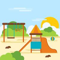 Playground clipart small park. Free vector art downloads