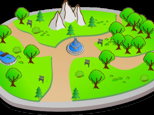 Free download clip art. Park clipart small park