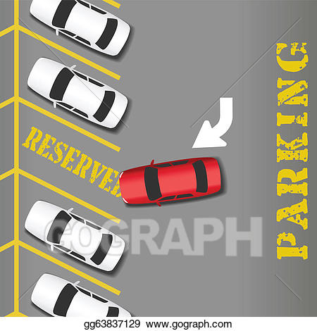 Car clip art royalty. Parking lot clipart