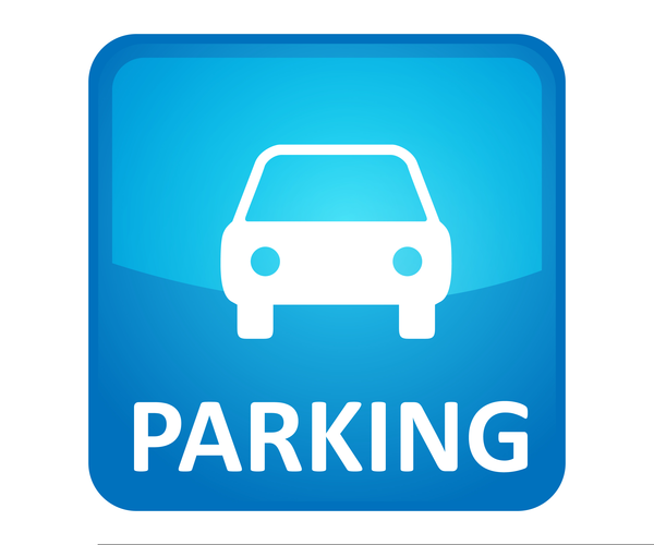 Cars In Parking Lot Clipart