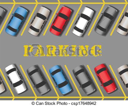 Parking lot clipart. Ranges voitures parc stationnement
